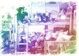 Cuarto lleno de juguetes