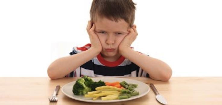 El niño que come mal Dieta sana