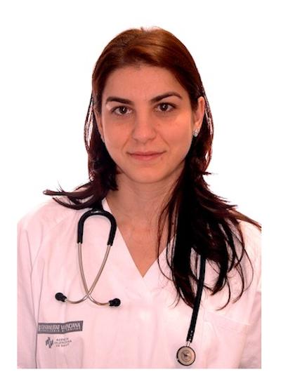 María Blanca Garrido García, Pediatra Neonatóloga.