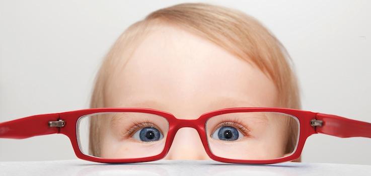 Gafas en bebés