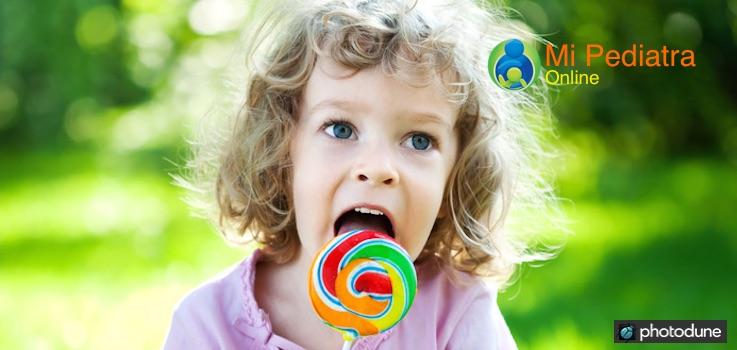 Azúcar baja en niños y bebés