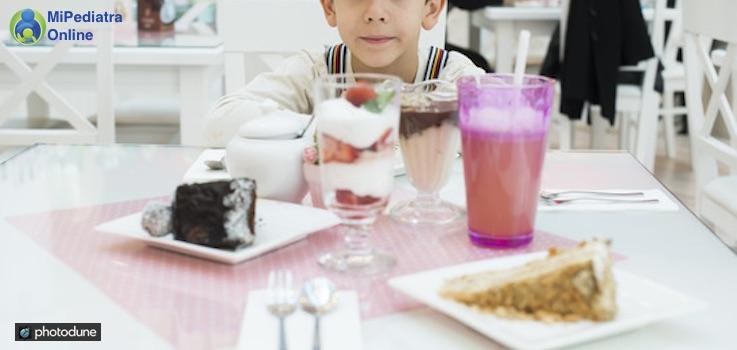 El azúcar en la alimentación infantil.