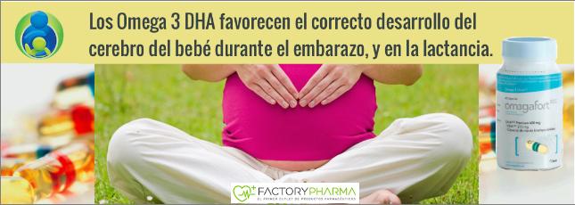 Omegafort Premium DHA, Omega 3 para favorecer el desarrollo del bebé durante embarazo y lactancia