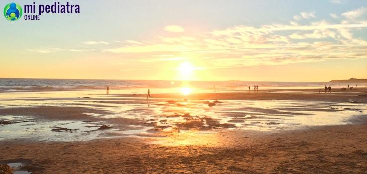 Atardecer en la Playa de La Barrosa de Chiclana de la Frontera (Cádiz). Mi favorita.