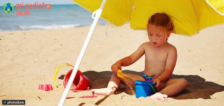 Golpe de Calor en Niños y Bebés.