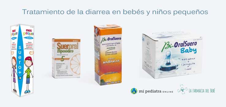 Tratamiento de la Diarrea en niños y bebés