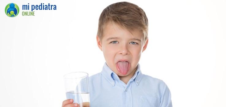 Qué hacer si tu hijo vomita la medicina