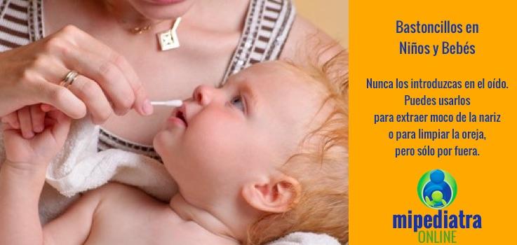 Cerumen de los oídos en niños y bebés. Qué podemos y qué no debemos hacer.
