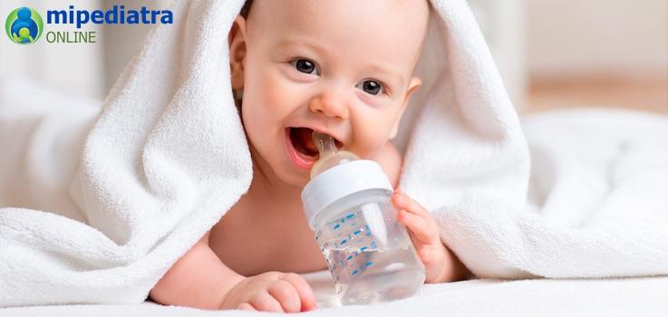 Hidratación en Bebés y Niños.