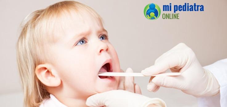 Es necesario dar antibiótico en las infecciones de garganta de los niños?