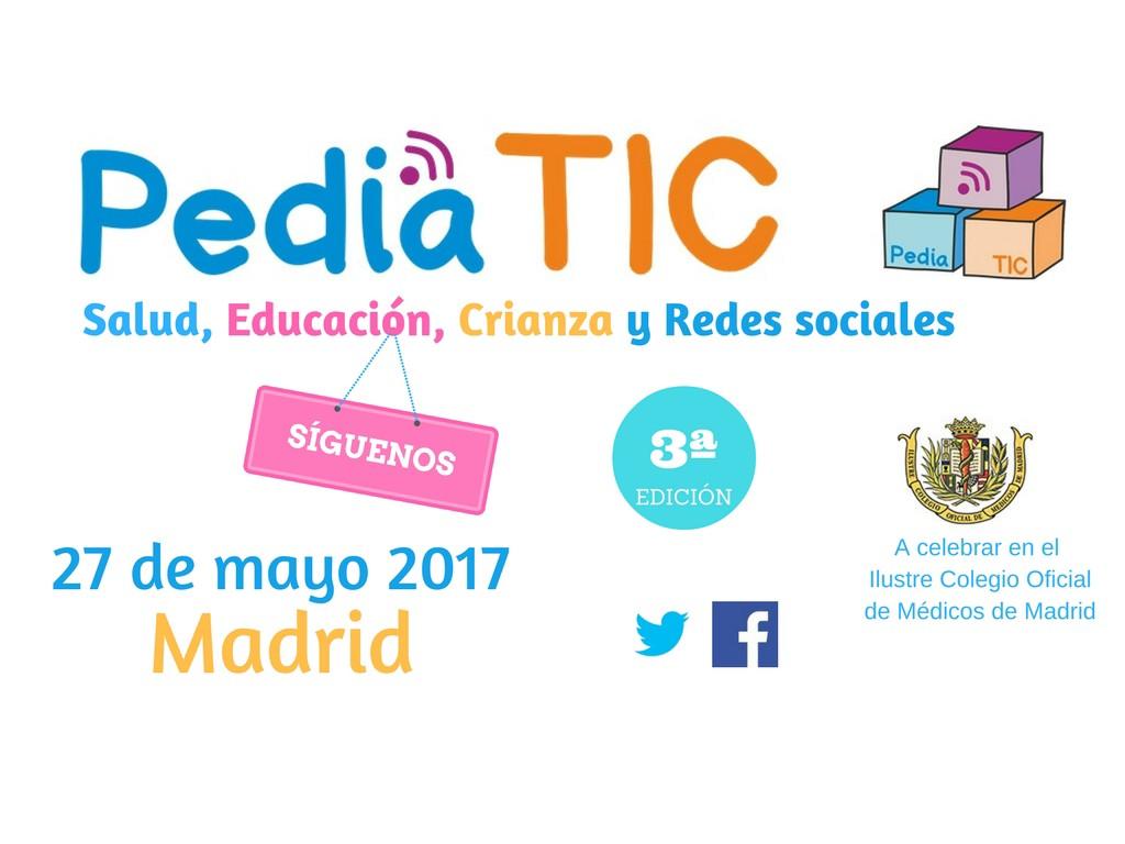 Pediatic, el encuentro de familias y profesionales para hablar de Salud infantil y nuevas tecnologías.