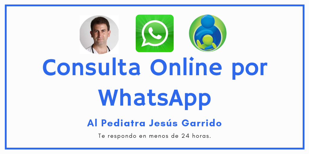 Consulta Online de Pediatria por WhatsApp a Jesús Garrido